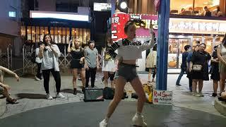 20190625 홍대 외국 미녀댄스팀 레드스파크(RED…