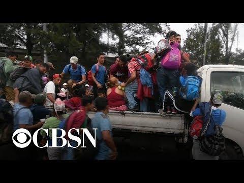 Trump issues threats over immigrant caravan heading to U.S.