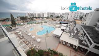 Odessa Beach Hotel 4* (Одесса Бич Отель) - Protaras, Cyprus (Протарас, Кипр)(Смотреть целиком: http://lookinhotels.ru/eu/cyprus/protaras/odessa-beach-hotel-4.html Watch the full video: ..., 2014-02-05T12:15:13.000Z)