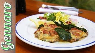 Veal Escalope Recipe with Gennaro