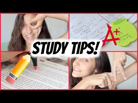 How To Get Straight As! Study Tips ✏️