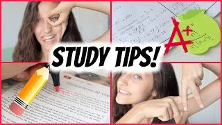 How To Get Straight A's! Study Tips ✏️