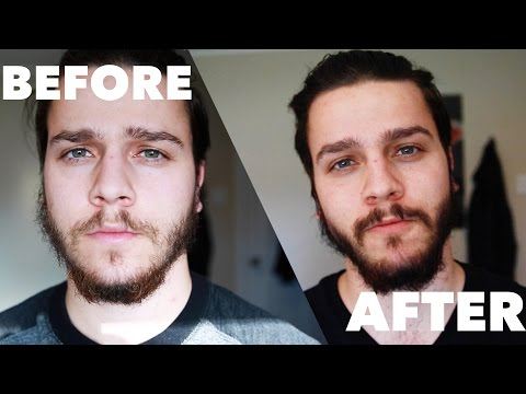 Just For Men on a Patchy Beard - YouTube