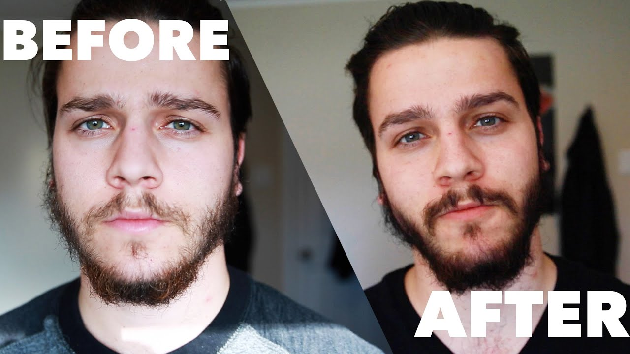 Just For Men On A Patchy Beard Youtube