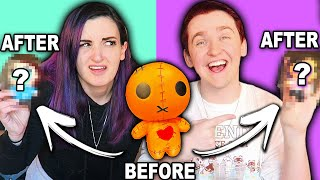 We Tried SQUISHY MAKEOVERS to Look Like EACH OTHER w/ Scott