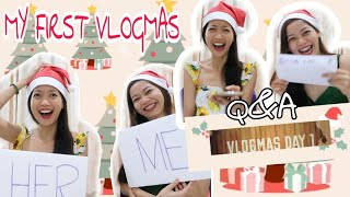 VLOGMAS DAY 1: Q&A with Czt! Buking! HAHA (Philippines)
