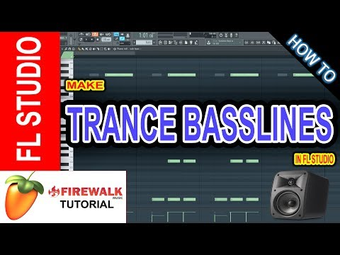 Trance Bassline Tutorial  (The 3 Basic Trance Basslines)