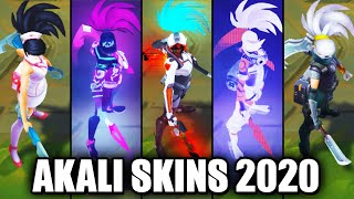 All Akali Skins Spotlight 2020 (League of Legends)