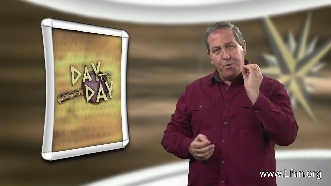 Day to Day (#59) - Paul's Ministry in Pisidian Antioch