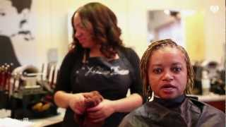 Natural Rootz Ep.1 - Twist Dreadlocks & Press Hair Bone Straight Without Relaxers!