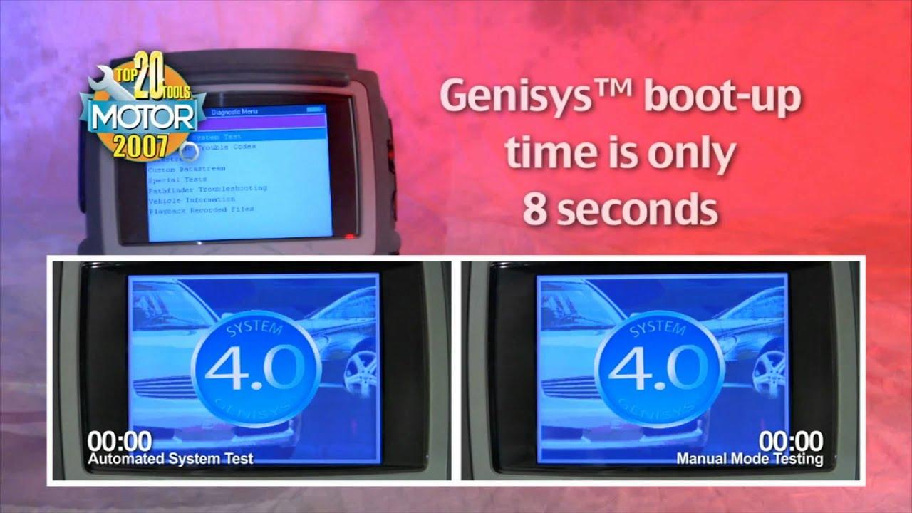 genisys evo manual