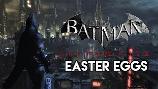 Repeat youtube video 5 Of The Best Easter Eggs In Batman: Arkham City