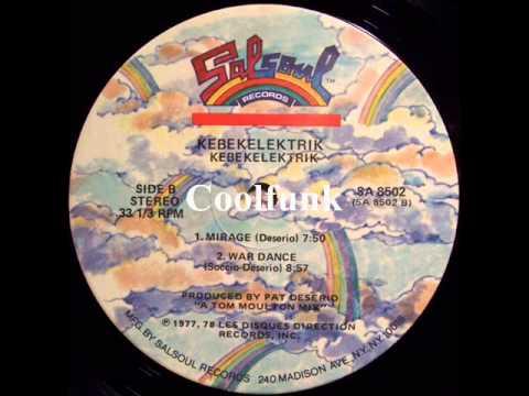 Kebekelektrik  War Dance 12 ElectroDisco 1977