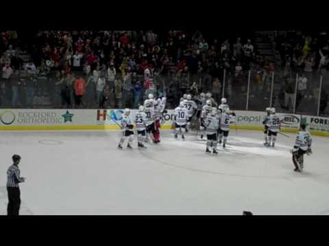 Jack Skille's Game Winning Goal! (Last Goal Of The Decade) 12/31/09