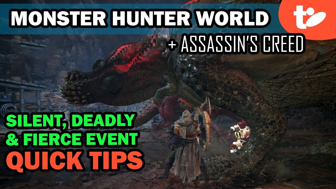 MHW: Silent, Deadly and Fierce event quest tips | Technobubble