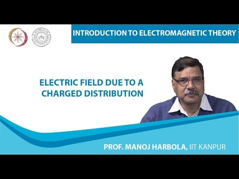 Electric Field due to a Charged Distribution