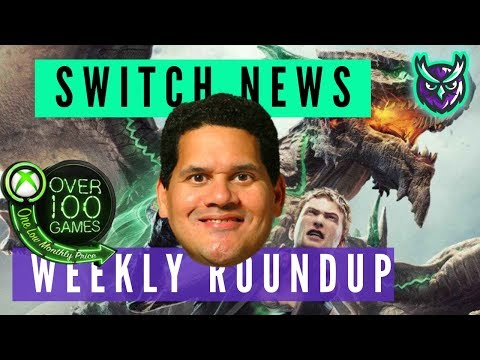Switch News Weekly Roundup - February week 4 2019 - Reggie retires, Xbox Gamepass to Switch + more!