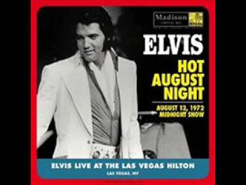 Elvis Presley Tiger Man 1972