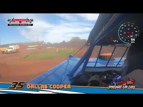 Winner - #35 Dallas Cooper - Super Late Model - 3-17-19 Talladega Short Track - In Car Camera