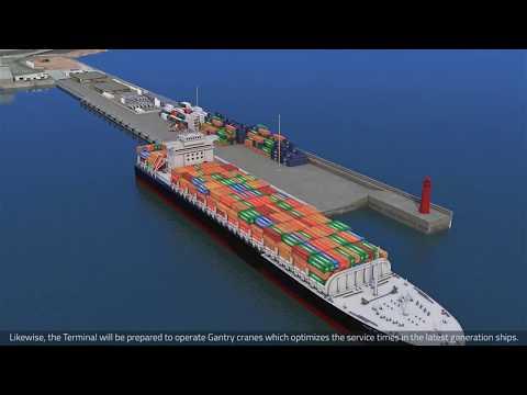 Puerto de Iquique, 3D Producido por Grupo Voxel, para EPI