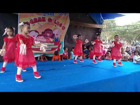 Malu Sama Kucing (Romaria) - Gebyar Paud Sekabupaten Donggala (Dance)
