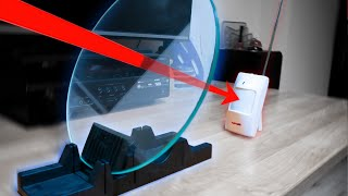 Can motion sensors see through glass?