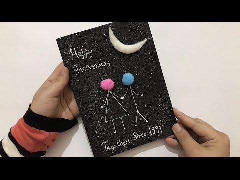 Handmade Anniversary Card | Anniversary Card for Parents | Anniversary Gift Ideas