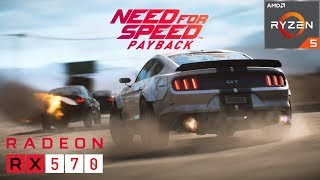 Need for Speed Payback  - RX 570 8 GB - Ryzen 5 2600 - Ultra