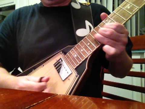 Gibson Grace Potter Flying V with 1973 50 Watt Marshall JMP amp - Hap Moore