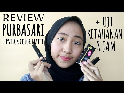 review-&-uji-ketahanan-purbasari-lipstick-matte-(89-jade-&-91-opal)-#wulanhusna