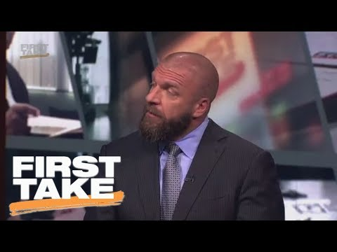 Triple H talks Mae Young Classic, Mayweather-McGregor, LaVar Ball and more | First Take | ESPN