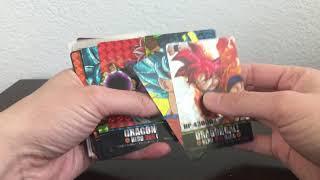 Dragonball Fake cards fan cards prism cards custom cards dojin cards