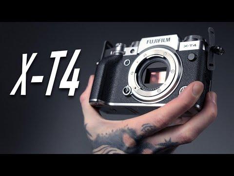 Fujifilm X-T4 - обзор | Самая ЛУЧШАЯ Камера 2020?