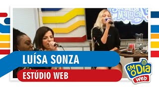 FM O Dia - Luísa Sonza (Estúdio Web)