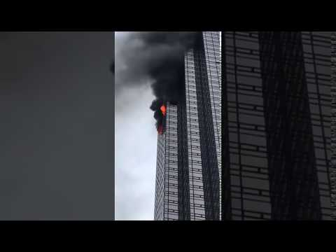 Deadly Fire Burns New York's Trump Tower