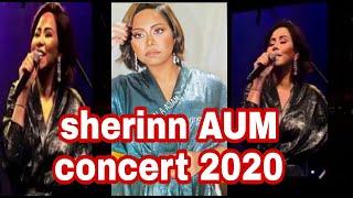 حفل شيرين عبد الوهاب بجامعة الشرق الأوسط بالكويتsherine AUM kuwait live concert 2020