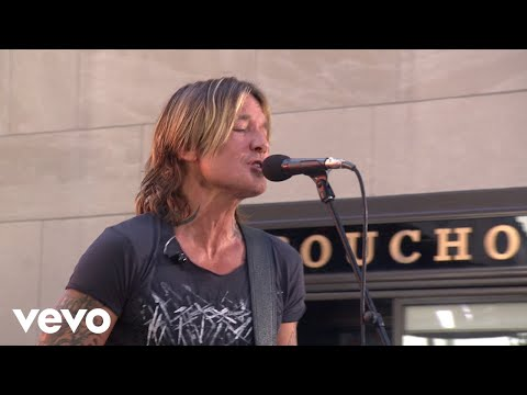Keith Urban - Wasted Time (Live From The TODAY Show)