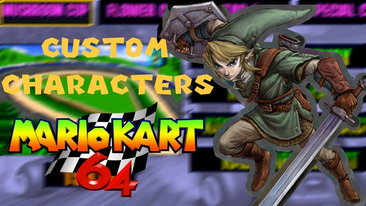 mario kart 64 custom characters