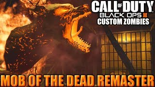 MOB OF THE DEAD REMASTER - Black Ops 3 - Custom Zombies - #OMAPAFICOULINDO