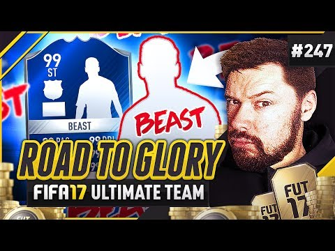 AWESOME SILVER TOTS BEAST! - #FIFA17 Road to Glory! #247 Ult