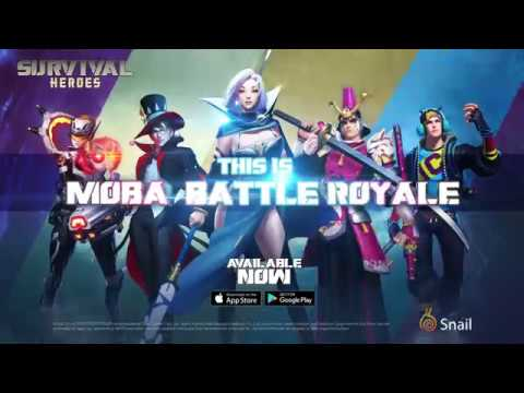 Survival Heroes Launch Trailer