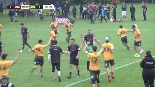 WUGC 2016 - Australia vs USA Men's