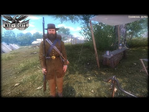 War of Rights - Confederate Uniforms