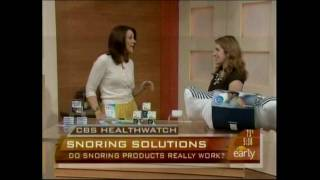 Brez Stop Snoring Device on CBS Early Show