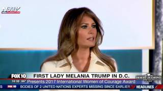 FULL EVENT: First Lady Melania Trump Attends International Women of Courage Awards in D.C.