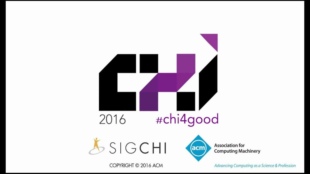 CHI 2016 Opening Ceremony - YouTube