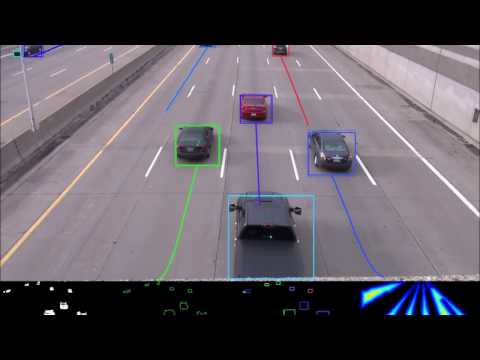 Multiple Object Tracking - Highway