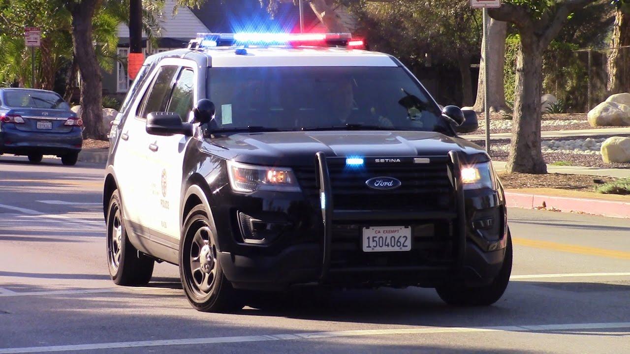 LAPD Ford Explorer