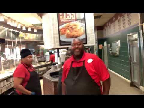 Falcons Fans At Piccadilly's Restaurant Fayettville GA Say Julio Jones Deserves $100 Million