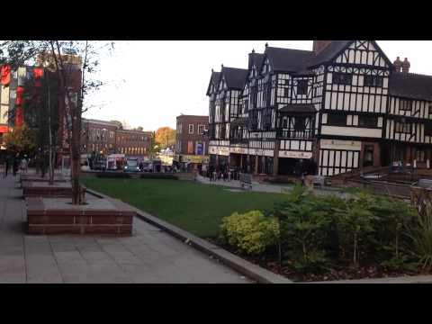 Coventry town centre - tour